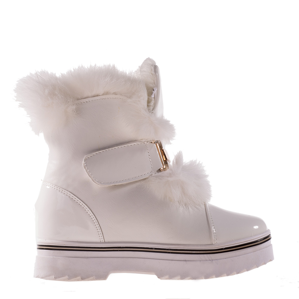 Sneakers dama Miller alb