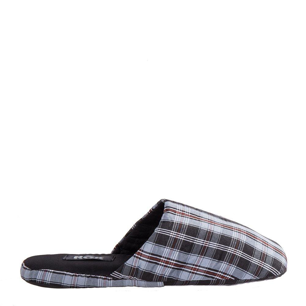 Papuci Barbati Rox Collection 315 Gri Cu Negru