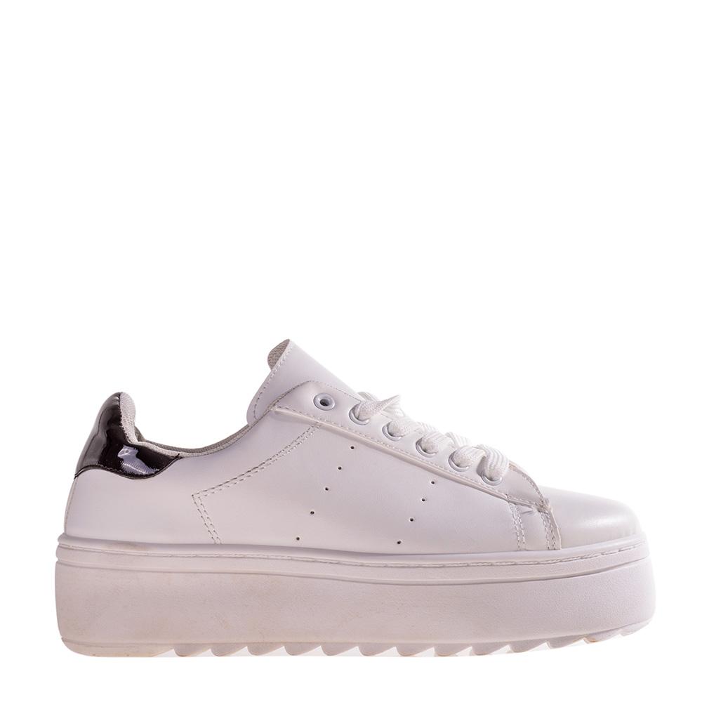 Pantofi sport dama Garvey albi cu negru