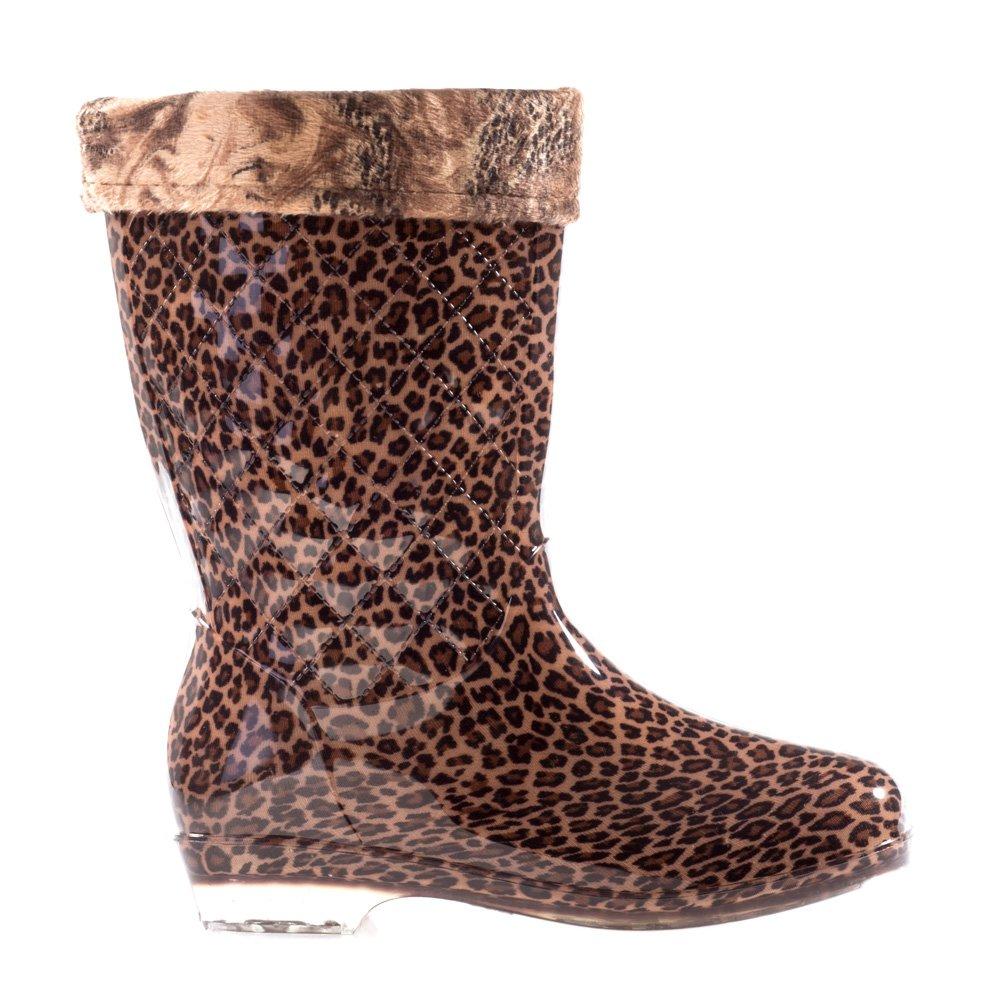 Cizme dama Pena leopard