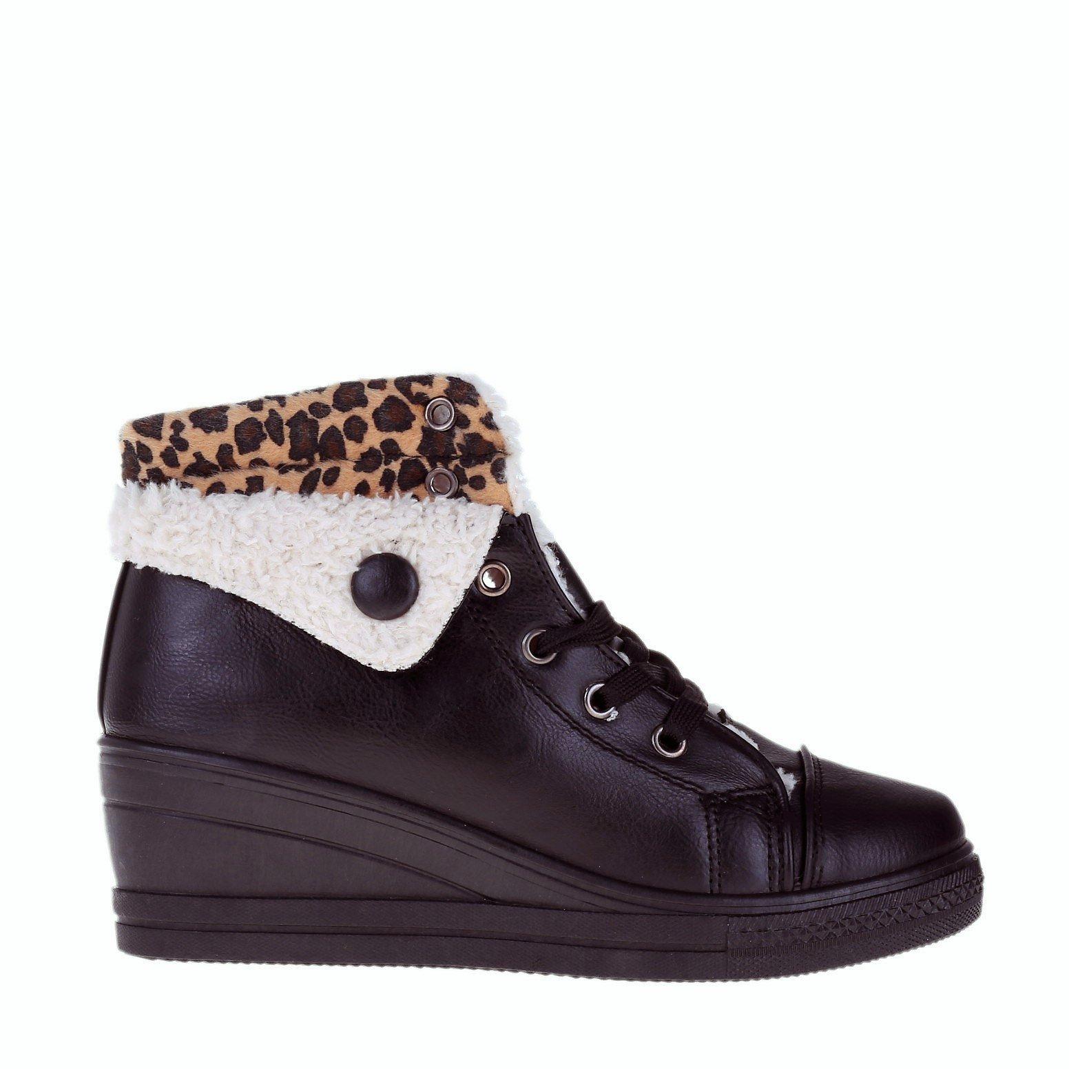 Sneakers dama Jeanetta negru