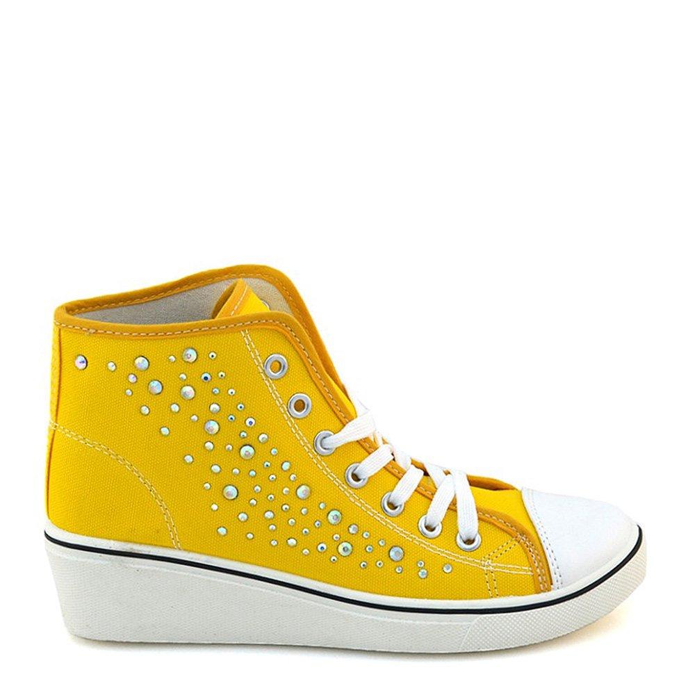 Pantofi sport dama Ivy galbeni