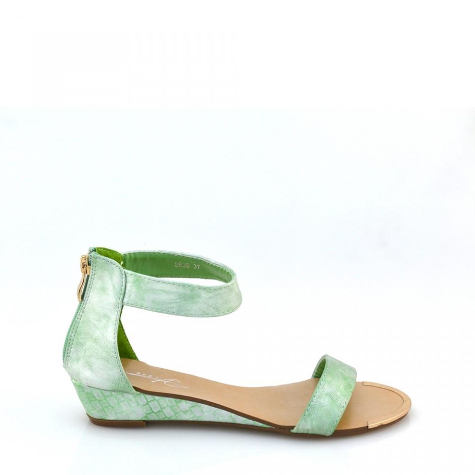 Sandale dama Scarlet verzi