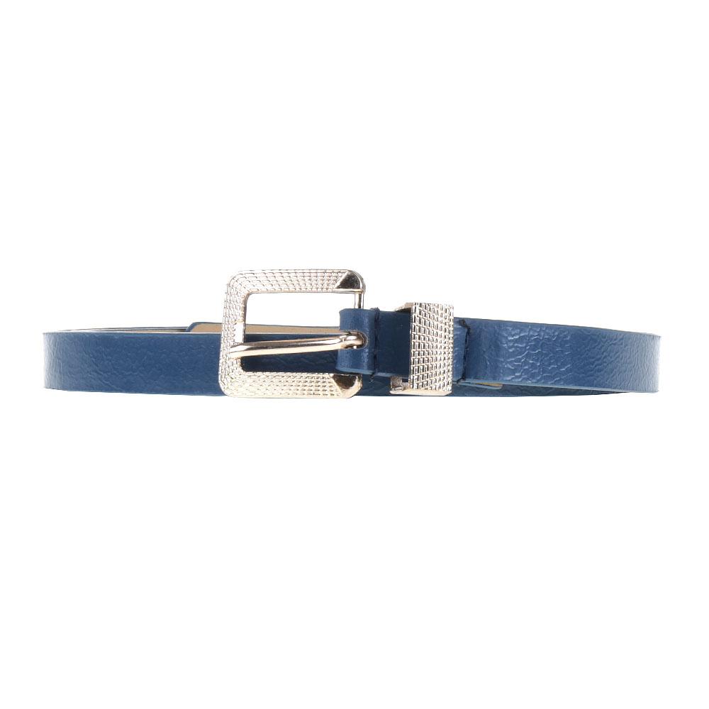 Curea dama CR123 albastra