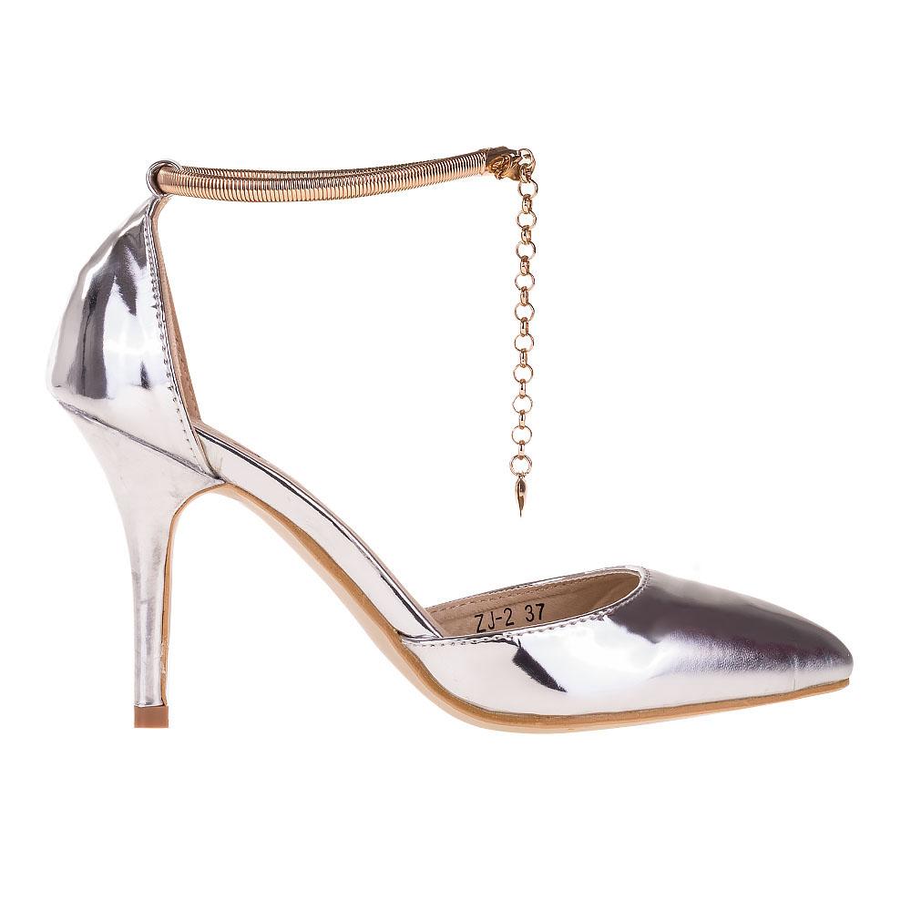Pantofi dama Lizette argintii