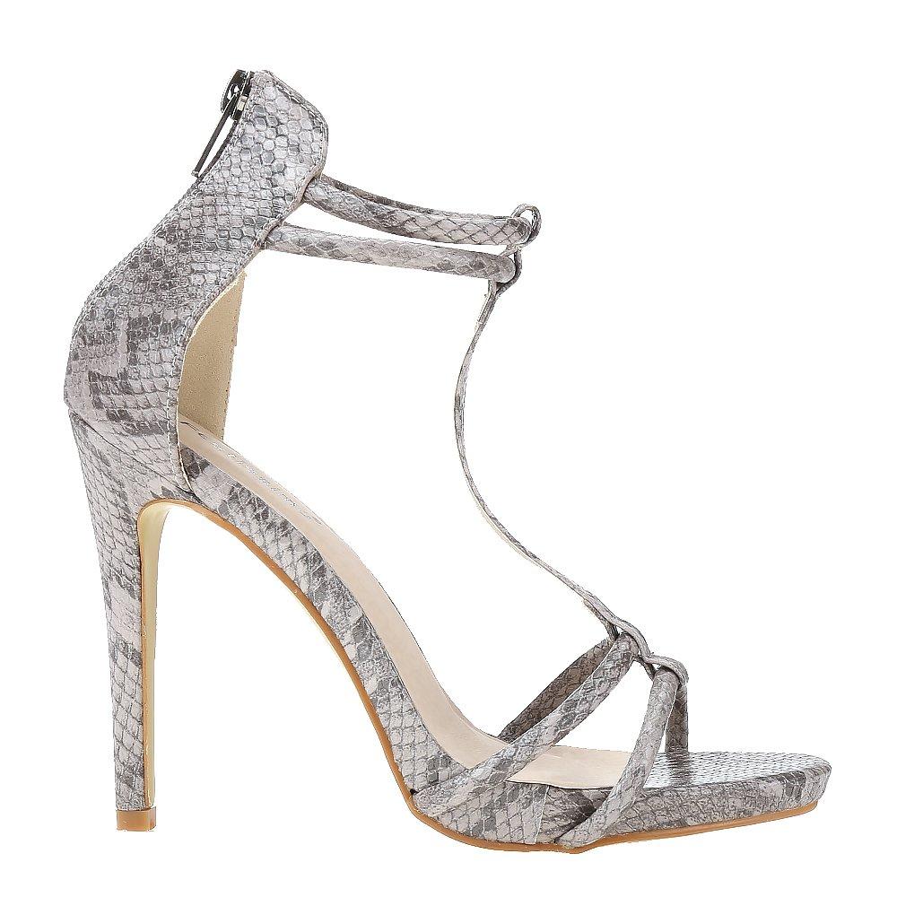 Sandale dama Zayla gri