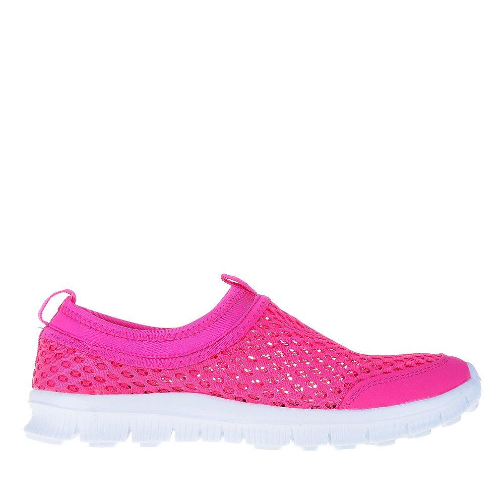 Espadrile dama Moira roz neon