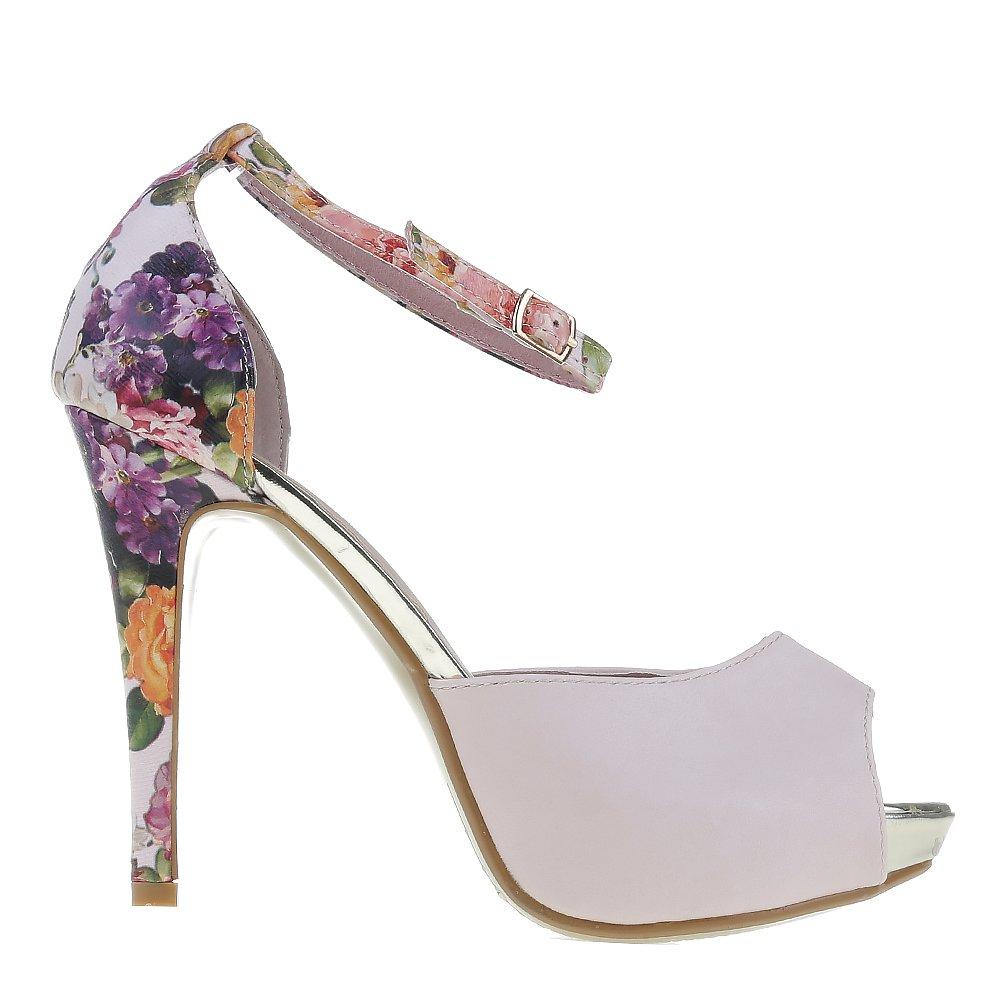 Sandale dama Leila roz