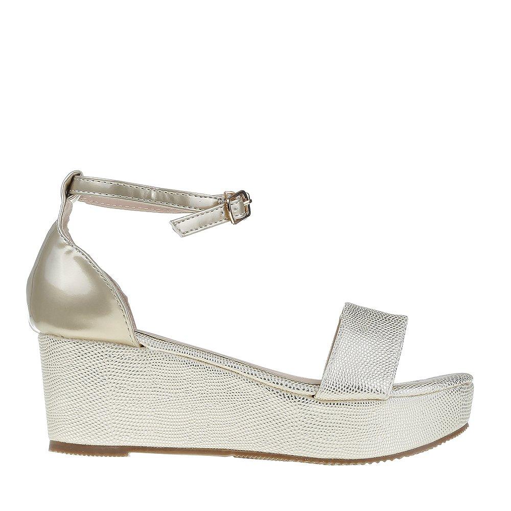 Sandale dama Chavira aurii