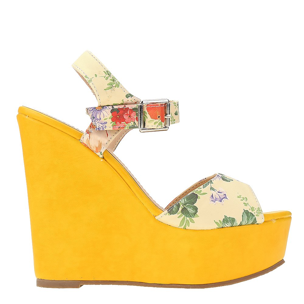 Sandale dama Beverly galbene
