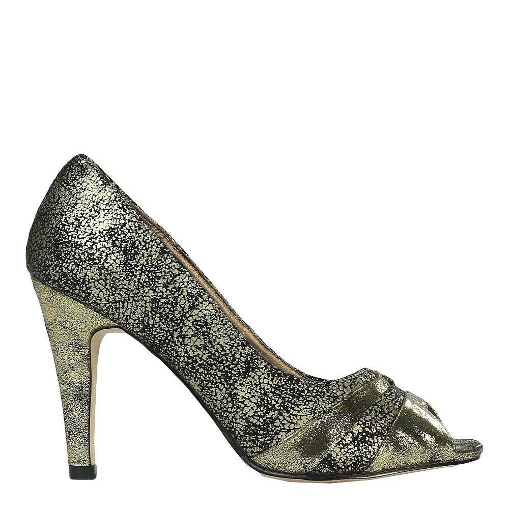 Pantofi dama Odalis aurii