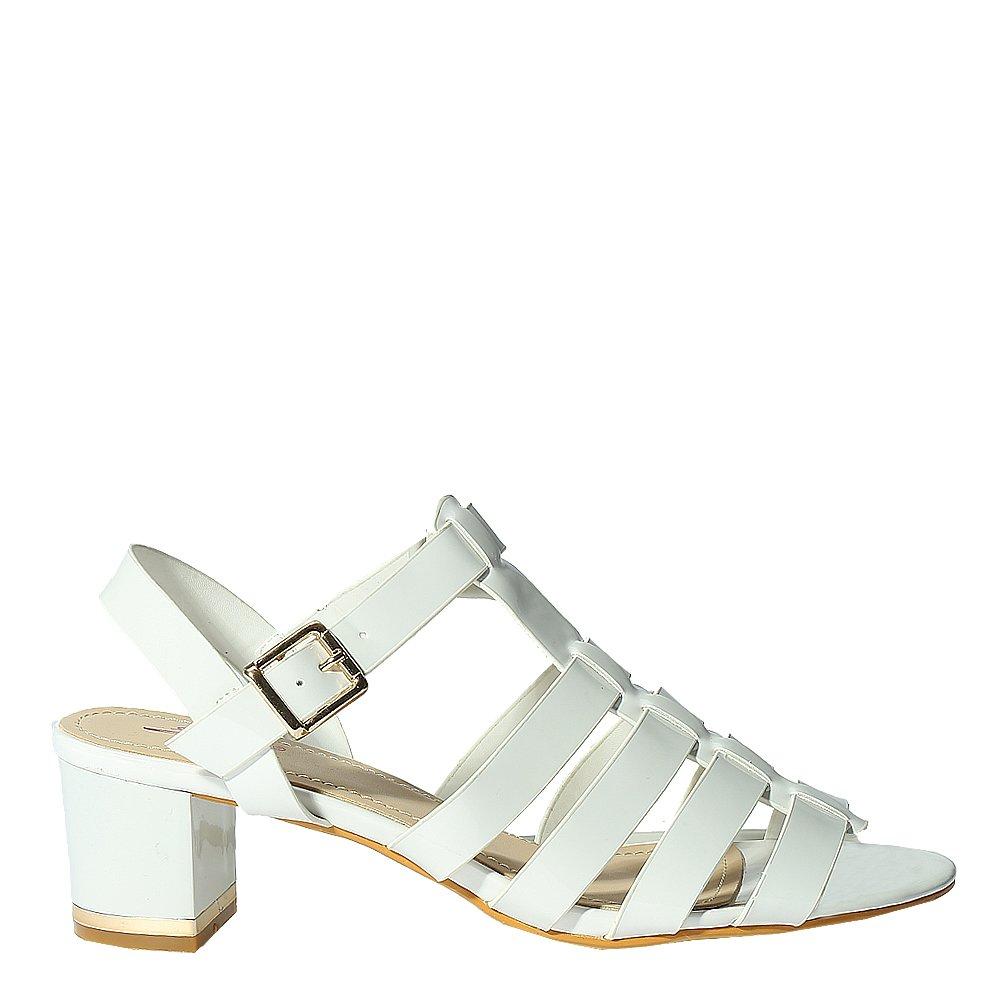 Sandale dama Jemma albe