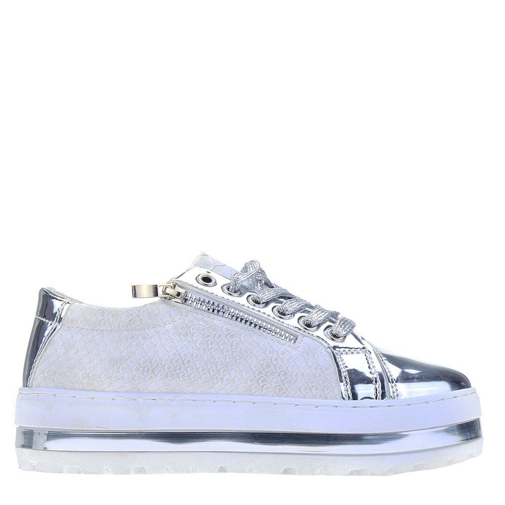 Pantofi sport dama Rosalie argintii