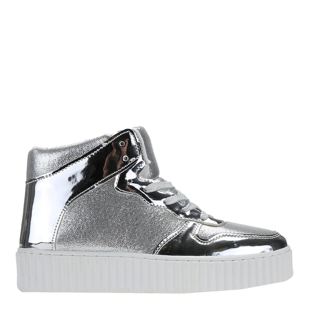 Sneakers dama Alejandra argintiu