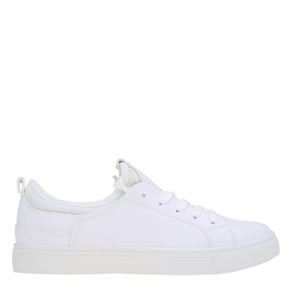 Pantofi sport dama Tricia albi