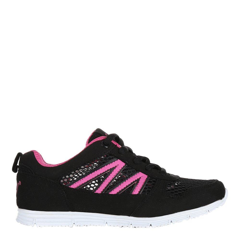 Pantofi sport copii Beverly negri cu fucsia