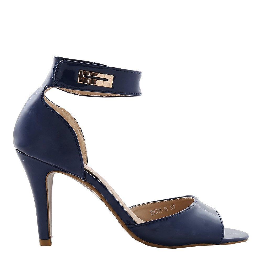 Sandale dama Cristal navy