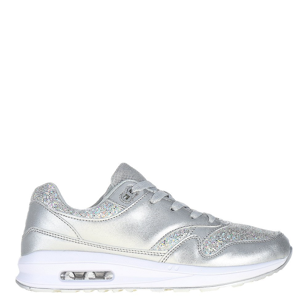 Pantofi sport dama Emmalyn argintii