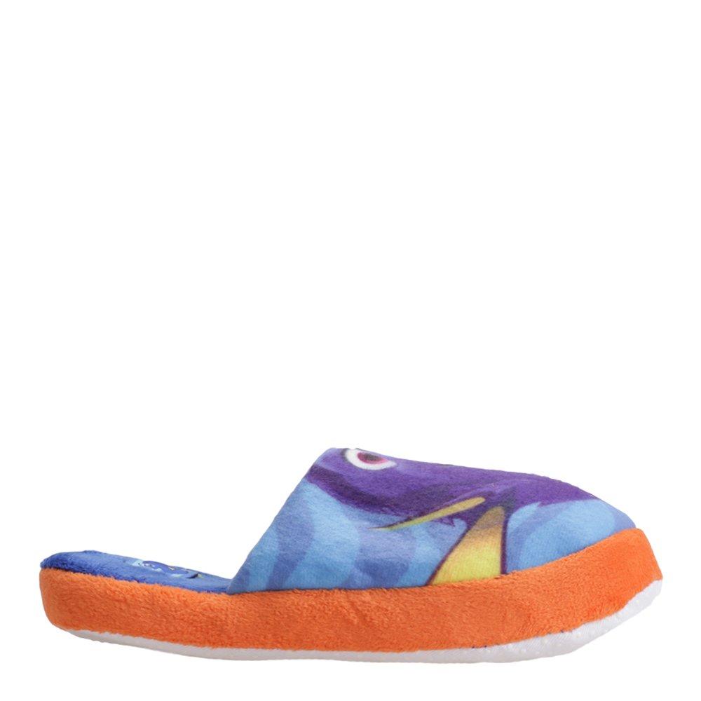 Papuci copii Finding Dory albastri cu portocaliu