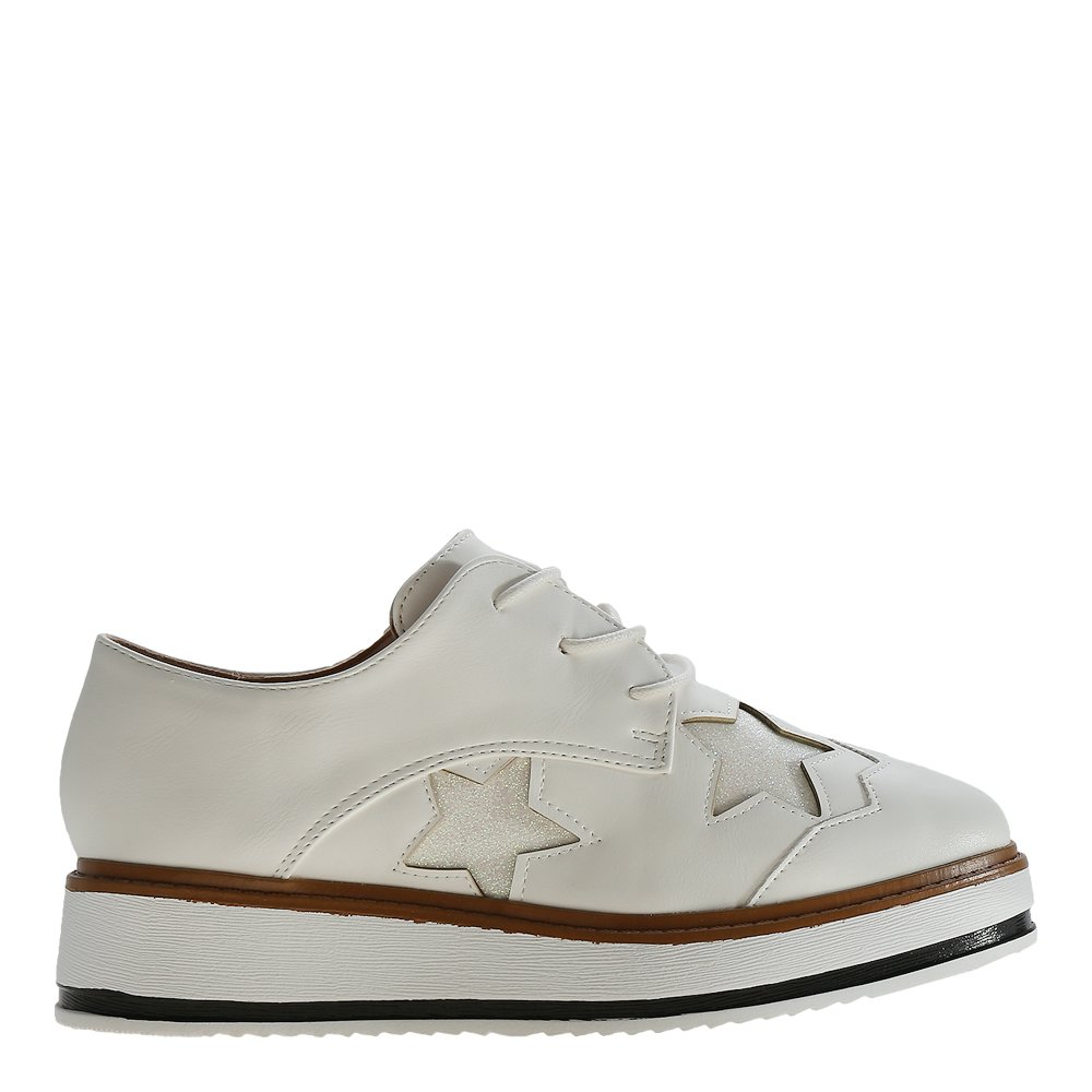 Pantofi dama Shirley albi
