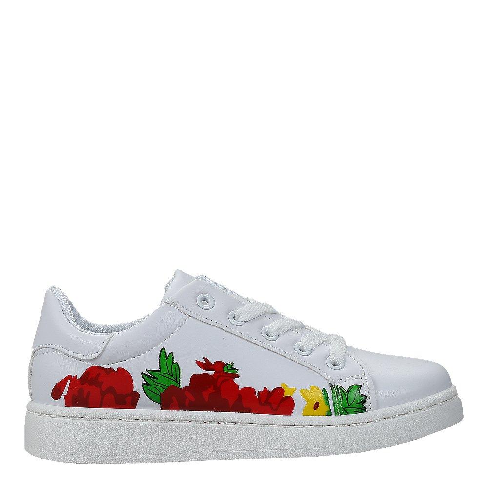 Pantofi sport dama Rema albi