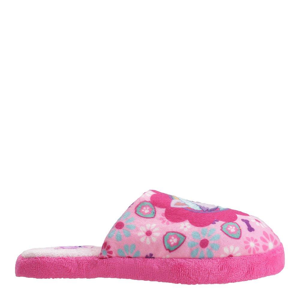 Papuci copii Paw Patrol roz cu fucsia
