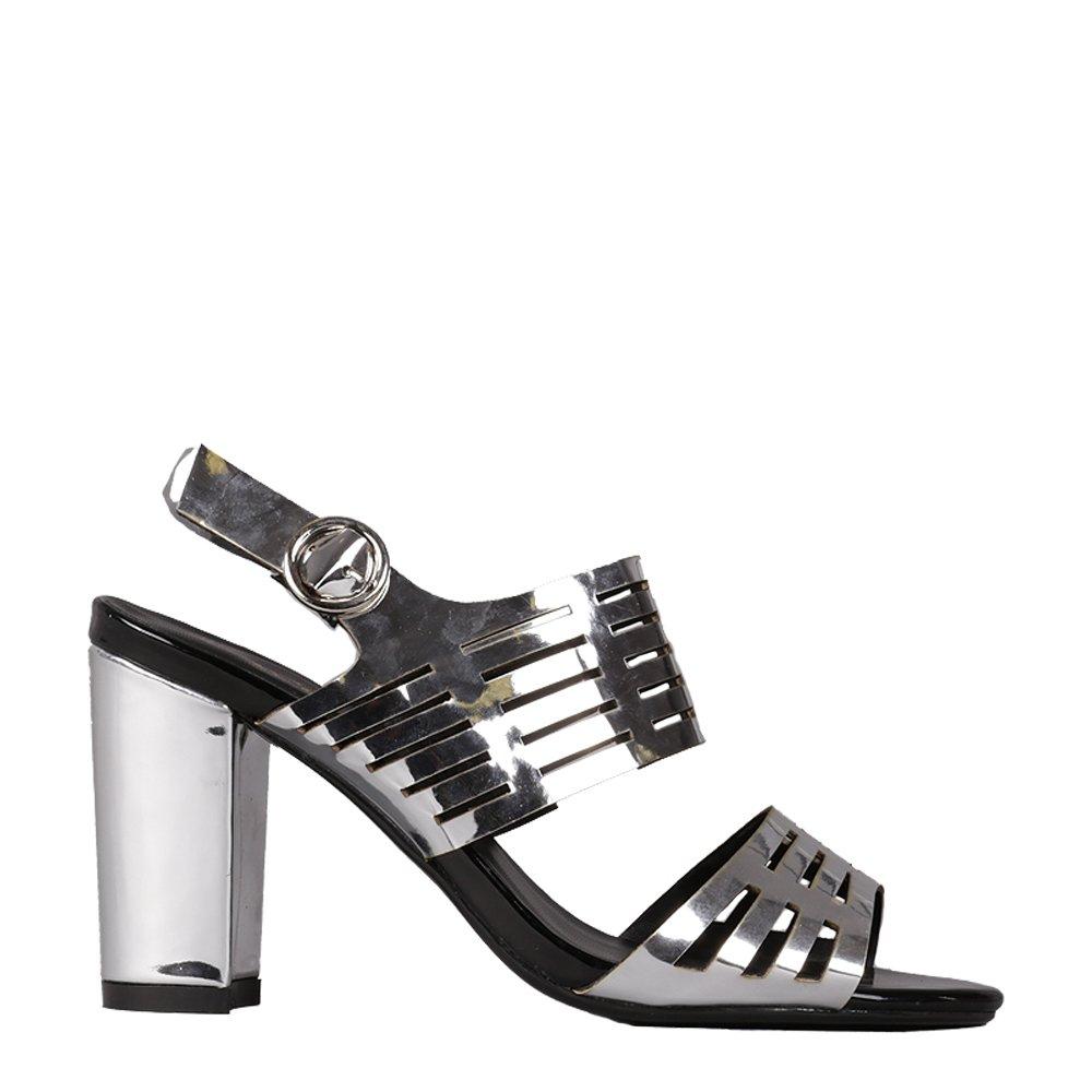 Sandale dama Audrey argintii